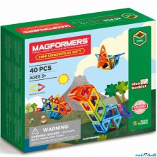 Magformers - Mini Dinosauři, 40 ks