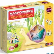 Magformers - Můj první Pastelle, 30 ks