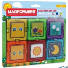 Magformers - Kartičky obrázky, 12 ks
