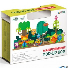 Magformers - POP-UP box, 28 ks
