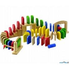 Dominová dráha - Dřevěné domino Klasik (Voila)