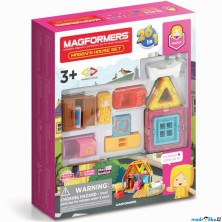 Magformers - MINI domeček Magdy, 33 ks