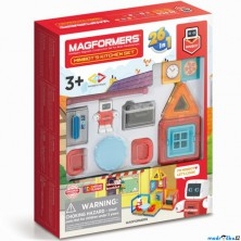 Magformers - MINI robůtek v kuchyni, 33 ks