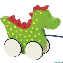 Tahací hračka - Dráček Saro dřevěný (Goki)