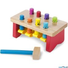 Zatloukačka - Luxusní dřevěná zatloukačka (M&D)