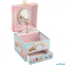 Šperkovnice - Hrací skříňka, Víla s jednorožcem (Goki)