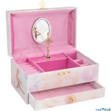 Šperkovnice - Hrací skříňka, Balerína (Goki)