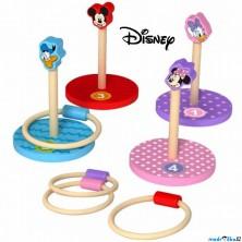 Hra s kroužky - Dřevěná házecí hra (Disney Derrson)