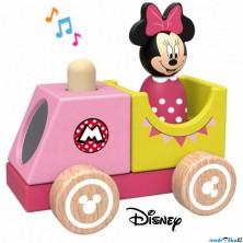 Vlak dřevěný - Vláček s Minnie se zvukem (Disney Derrson)