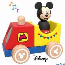 Vlak dřevěný - Vláček s Mickeym se zvukem (Disney Derrson)