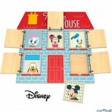 Puzzle odkrývací - Trénujeme paměť s Mickeym (Disney Derrson)