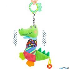Hračka závěsná - Natahovací vrnící krokodýl (Legler)