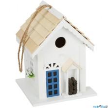 Ptačí budka - Dřevěná bílá chata (Legler)