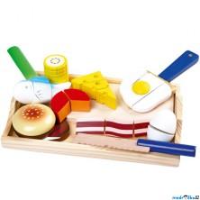 Krájení - Dřevěné potraviny jídlo gurmán (Legler)