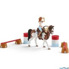 Schleich - Jezdecký klub, Hannah a sada pro westernové ježdění