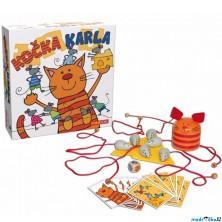 Společenská hra - Kočka Karla