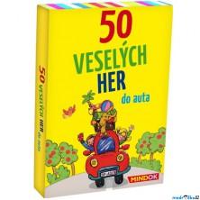 Společenská hra - 50 veselých her do auta