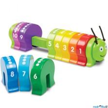 Skládačka - Housenka a skládání podle čísel (M&D)