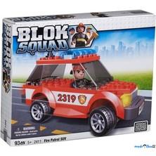 Mega Bloks - Kostky micro, Blok Squad, Požární hlídka