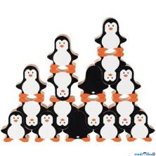 Motorická hra - Balancující postavičky tučňáci (Goki)