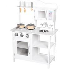 Kuchyň - Dětská kuchyňka dřevěná Amélie s příslušenstvím (Bino)