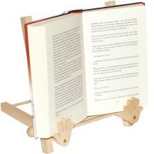 Dřevěný stojan na otevřenou knihu (Legler)