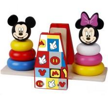 Skládačka - Pyramidy na vahách, Mickey a Minnie (Disney Derrson)