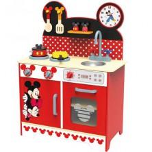 Kuchyň - Dětská kuchyňka dřevěná XL Mickey a Minnie (Disney Derrson)