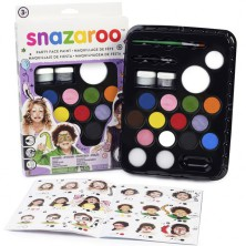 Snazaroo - Sada 14 barev na obličej, Velký párty set