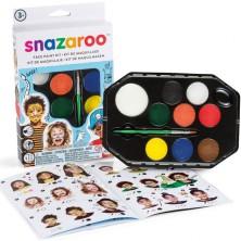 Snazaroo - Sada 8 barev na obličej, Chlapci