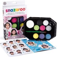 Snazaroo - Sada 8 barev na obličej, Dívky