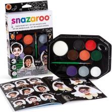 Snazaroo - Sada 8 barev na obličej, Halloween