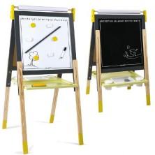 Kreslící tabule - Výškově nastavitelná šedá, 91 až 126cm (Janod)