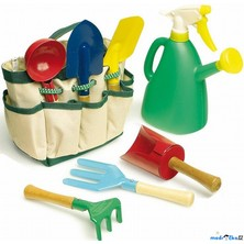 Zahradní nářadí - Zahradnická taška, 7ks (Legler)