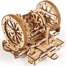 3D mechanický model - Steam Lab, Diferenciál (Ugears)
