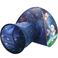 Dětský domeček - Stan s tunelem kosmonaut (Bino)