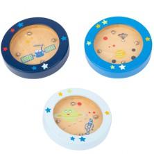 Motorická hra - Mini kuličková hra, Vesmír, 1ks (Legler)