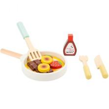 Kuchyň - Set na přípravu palačinek dřevěný (Legler)