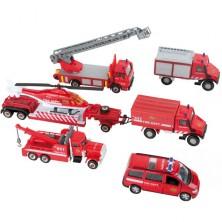 Kovový model - Set hasičů záchranářů Urban Spirit