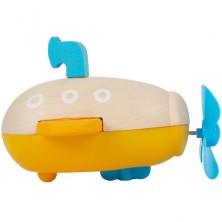 Hračka do vody - Ponorka natahovací (Legler)