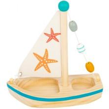 Loď dřevěná - Plachetnice hvězdice (Legler)