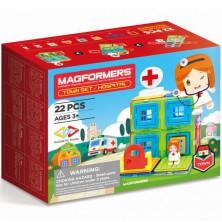 Magformers - Městečko Nemocnice, 22 ks