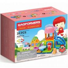 Magformers - Městečko Cukrárna, 22 ks
