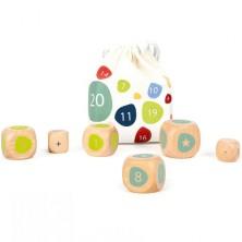 Školní pomůcka - Edukativní počítací kostky v pytlíku (Legler)