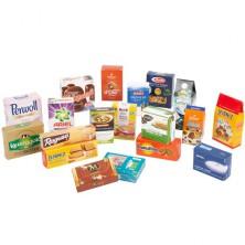 Prodejna - Zboží, Sada krabiček známých produktů (Legler)