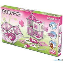 Geomag - Kids Pink Panels Girls, 142 ks