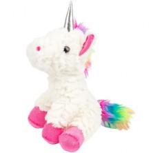 Textilní hračka - Plyšový jednorožec růžový (Legler)