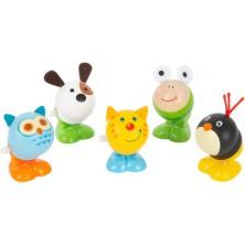 Drobné hračky - Natahovací skákací zvířátko, 1ks (Legler)