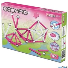 Geomag - Kids Pink Color Girls, 66 ks