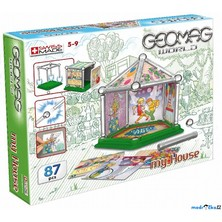 Geomag - World, House Mini, 87 dílků